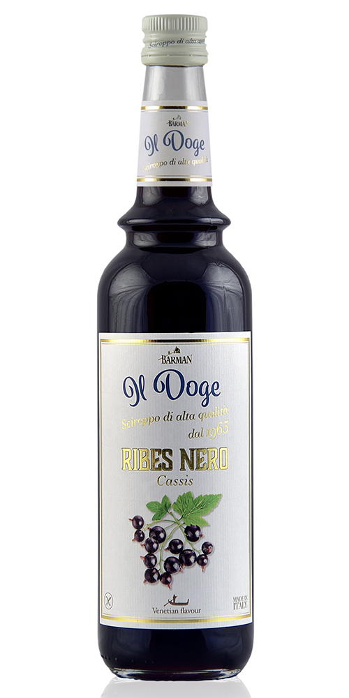 Il Doge Koffie siroop Cassis