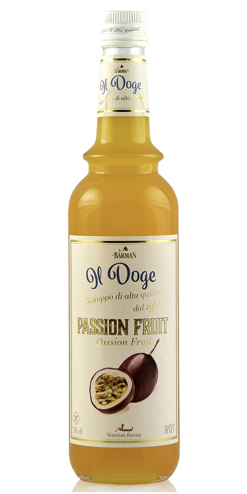 Il Doge Koffie siroop Passion Fruit
