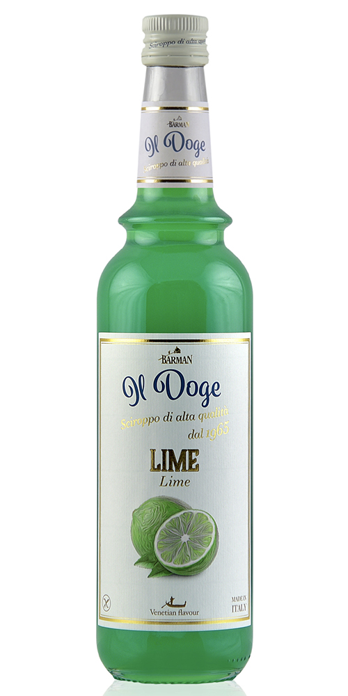 Il Doge Koffie siroop Lime