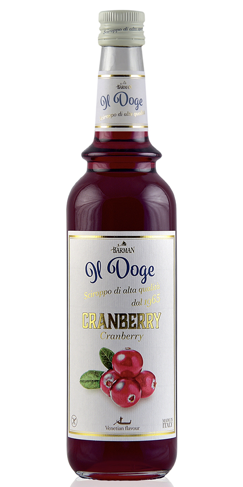 Il Doge Koffie siroop Cranberry